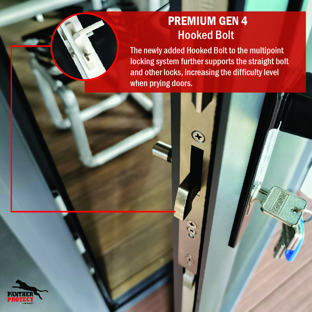Panther Protect Premium Gen 4 Hooked Bolt